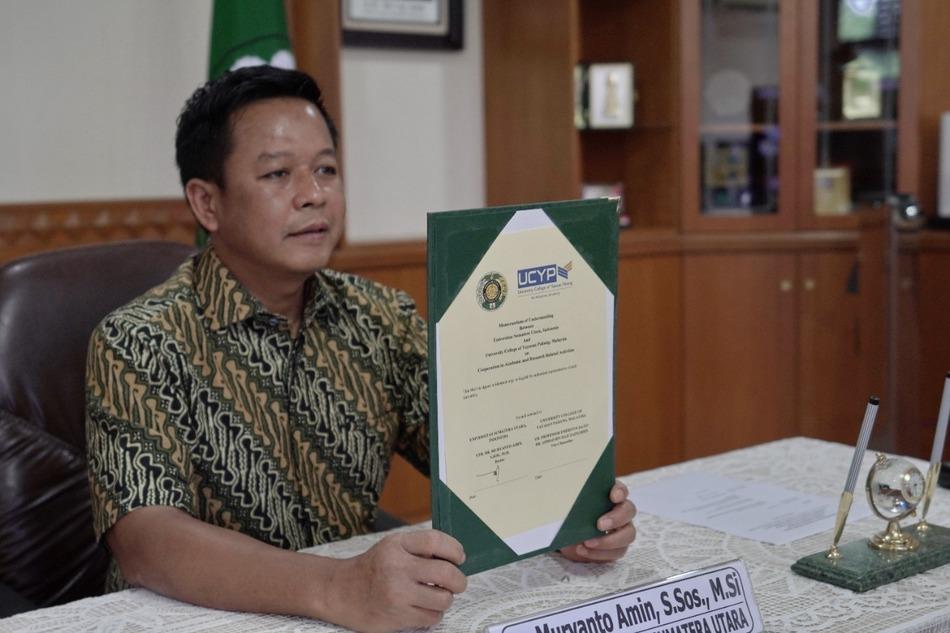 Focus on Campus Internationalization, USU-UCYP Malaysia Agree to Establish Cooperation