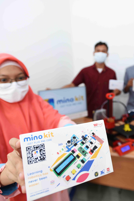 """MINO KIT, Robotic Innovation as Easy as """"Plug and Play"""""""
